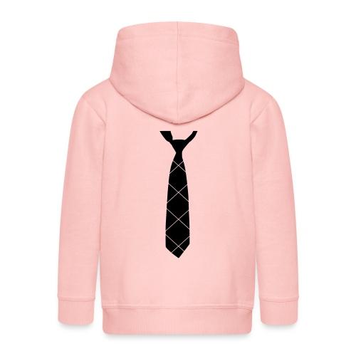Krawatte - Kinder Premium Kapuzenjacke