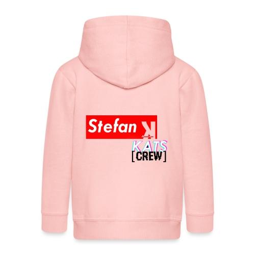 Stefan Sup - Rozpinana bluza dziecięca z kapturem Premium