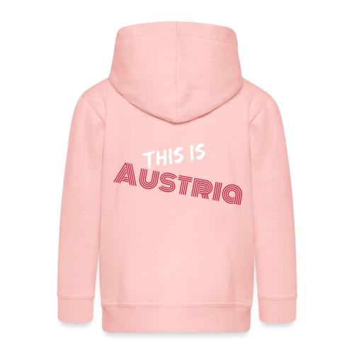 Das ist Österreich - Kinder Premium Kapuzenjacke