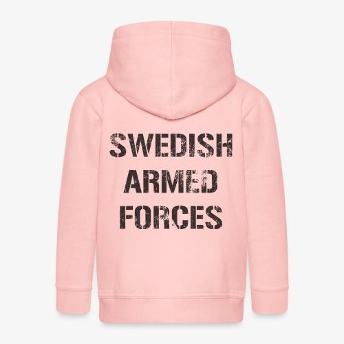 SWEDISH ARMED FORCES Rugged + SWE Flag - Premium-Luvjacka barn
