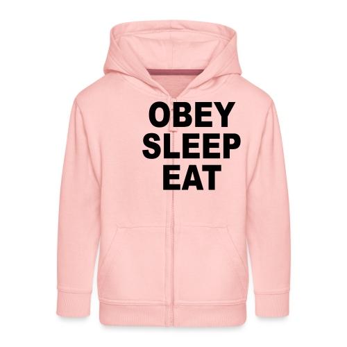 obey sleep - Veste à capuche Premium Enfant