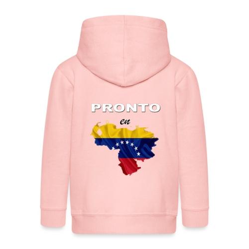PRONTO EN VENEZUELA - Chaqueta con capucha premium niño