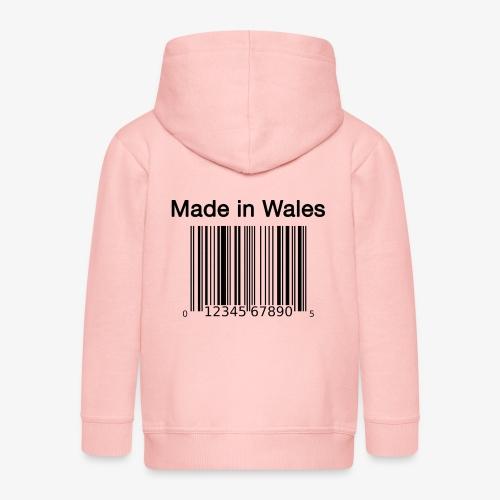 Made in Wales - Kids' Premium Hooded Jacket