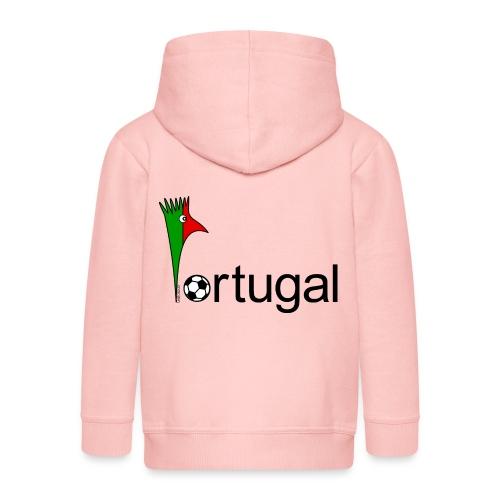 Galoloco Portugal 1 - Veste à capuche Premium Enfant