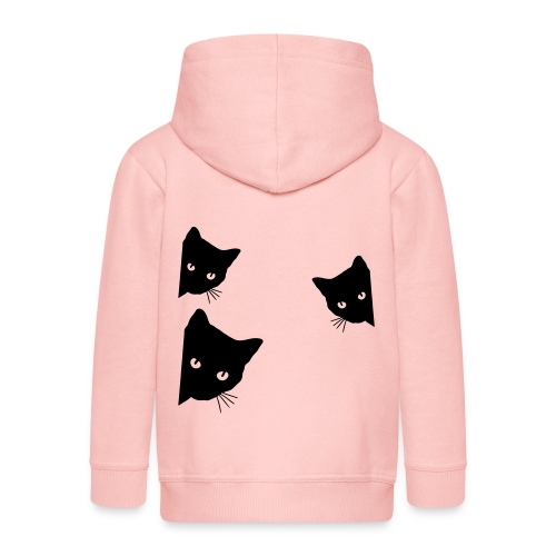 Vorschau: cats - Kinder Premium Kapuzenjacke