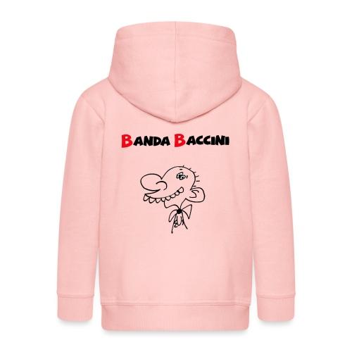 Banda Baccini. - Felpa con zip Premium per bambini