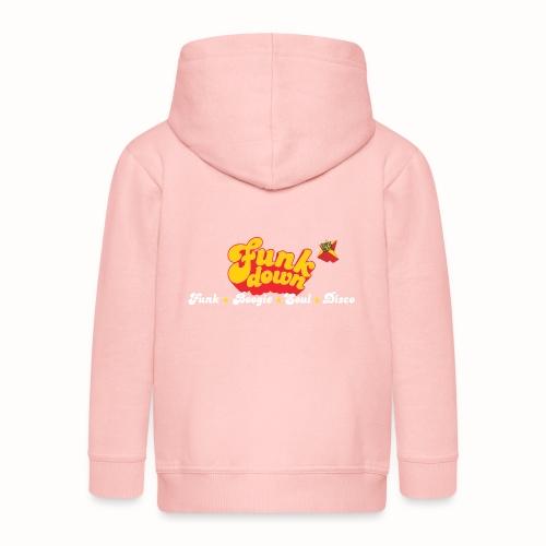FunkDown Official Merchandise (med genrer) - Premium hættejakke til børn