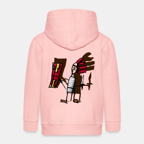 Romano color pantone - Chaqueta con capucha premium niño