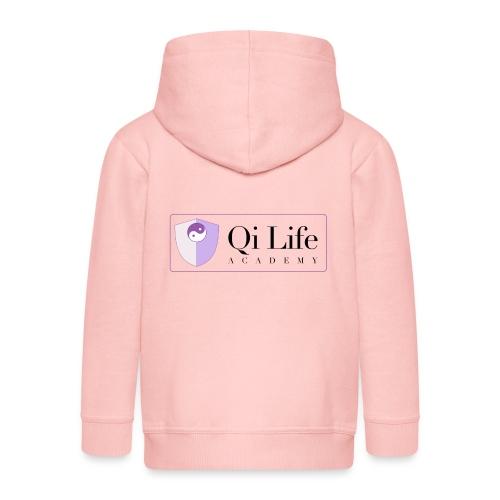 Qi Life Academy Promo Gear - Kids' Premium Hooded Jacket