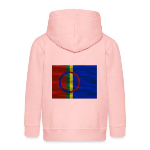 Sapmi flag - Premium Barne-hettejakke