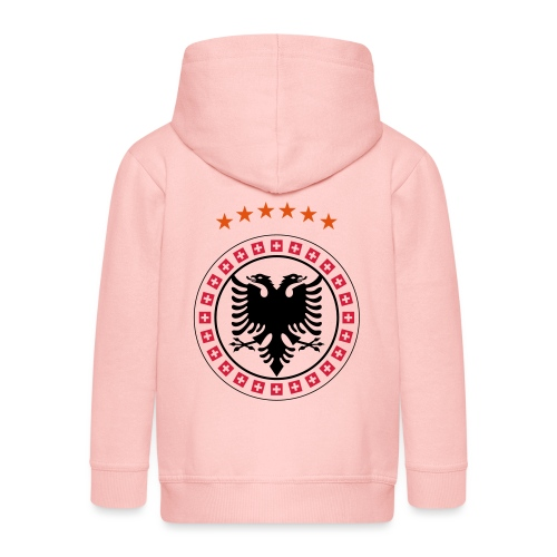 Albanien Kosovo Schweiz - Kinder Premium Kapuzenjacke