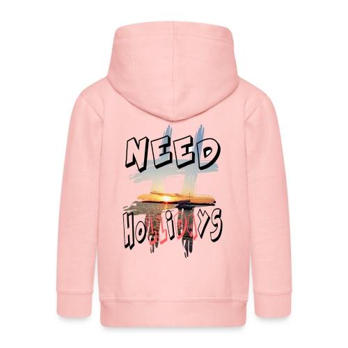 H-Tag Need Hollidays - Veste à capuche Premium Enfant