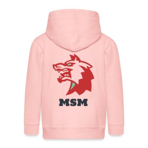MSM WOLF - Premium hættejakke til børn