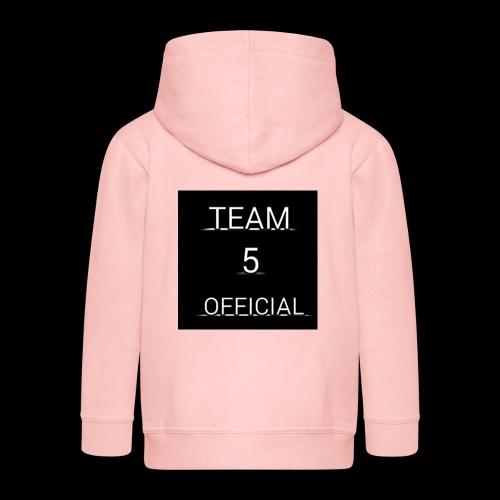 Team5 official 1st merchendise - Kids' Premium Hooded Jacket