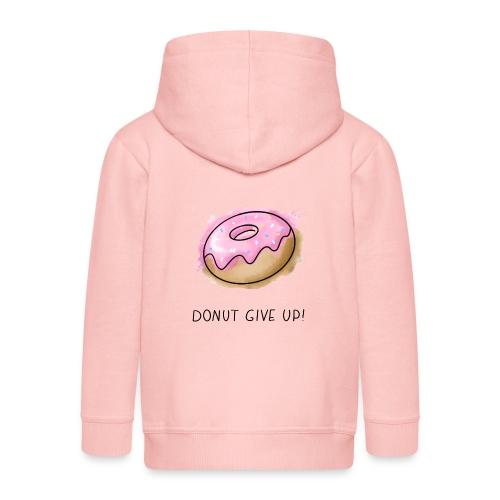 Fruit Puns n°1 Donut give up - Kinder Premium Kapuzenjacke