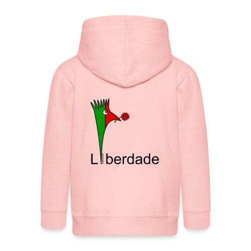 Galoloco - Liberdaded - 25 Abril - Veste à capuche Premium Enfant
