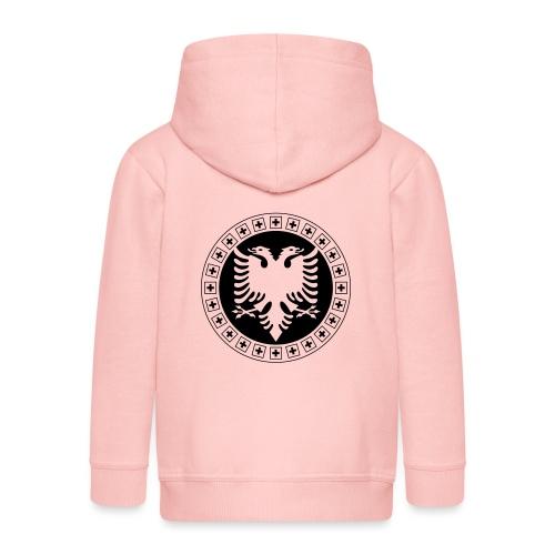Albanien Schweiz Shirt - Kinder Premium Kapuzenjacke