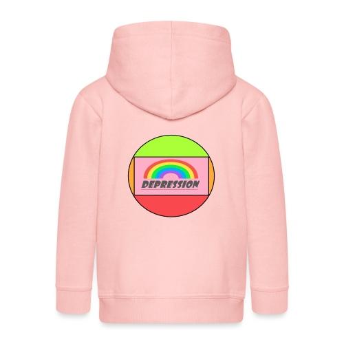Depressed design - Kids' Premium Hooded Jacket