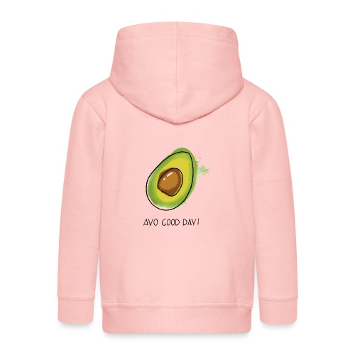 Fruit Puns n°2 Avo Good Day, Avocado - Kinder Premium Kapuzenjacke