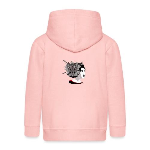 Warrior Flower - Kinderen Premium jas met capuchon