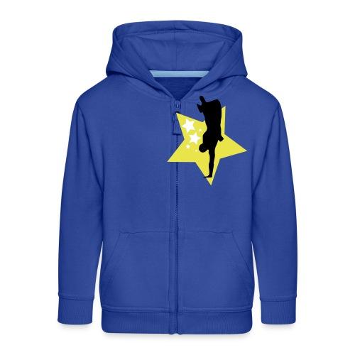 stars - Kids' Premium Zip Hoodie
