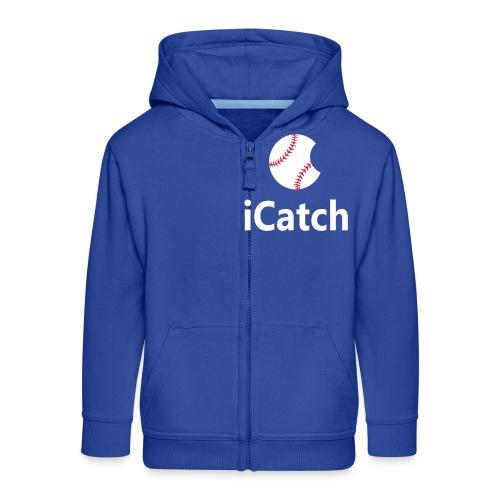 Baseball Logo iCatch - Kids' Premium Zip Hoodie