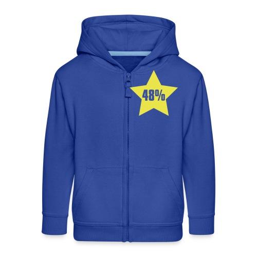 48% in Star - Kids' Premium Zip Hoodie