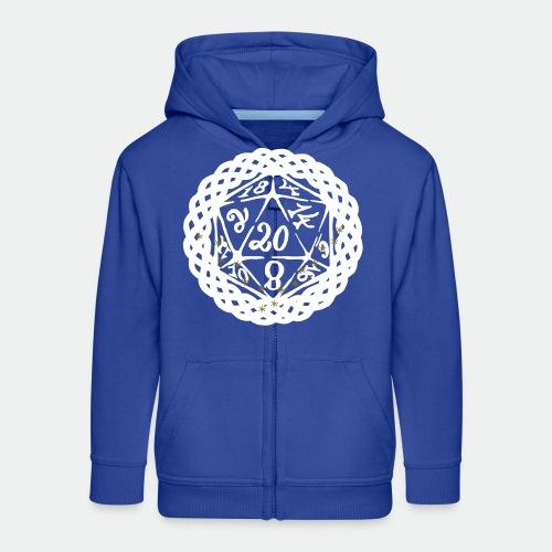 Snowflake Starglitter - Kids' Premium Hooded Jacket
