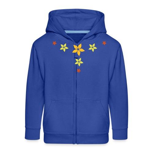 flower, star - Kinder Premium Kapuzenjacke