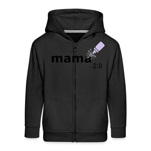 Mama_2-0 - Kinder Premium Kapuzenjacke