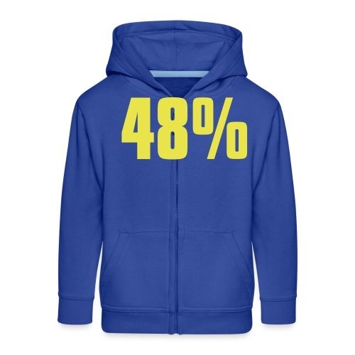 48% - Kids' Premium Zip Hoodie