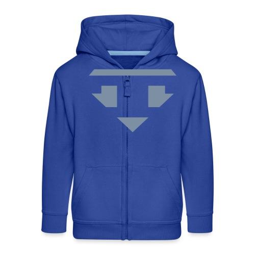 Twanneman logo Reverse - Kinderen Premium jas met capuchon