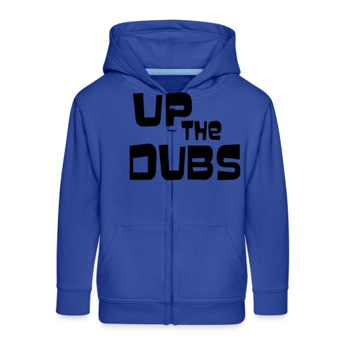UP the DUBS - Kids' Premium Zip Hoodie