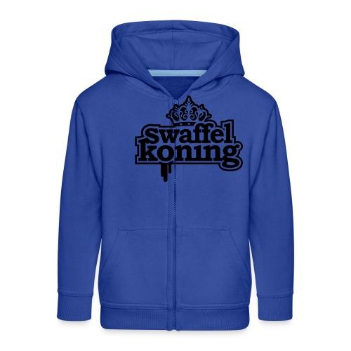 SwaffelKoning - Kinderen Premium jas met capuchon