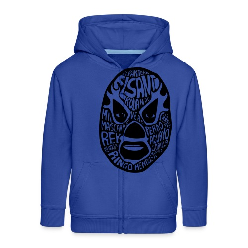 luchador mask2 - Kinderen Premium jas met capuchon
