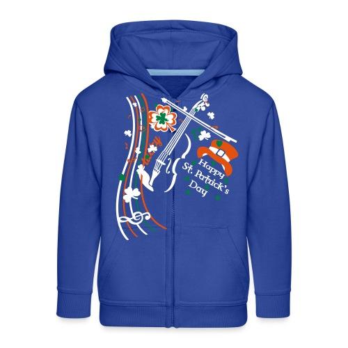 St.Patrick's Day - Kids' Premium Hooded Jacket