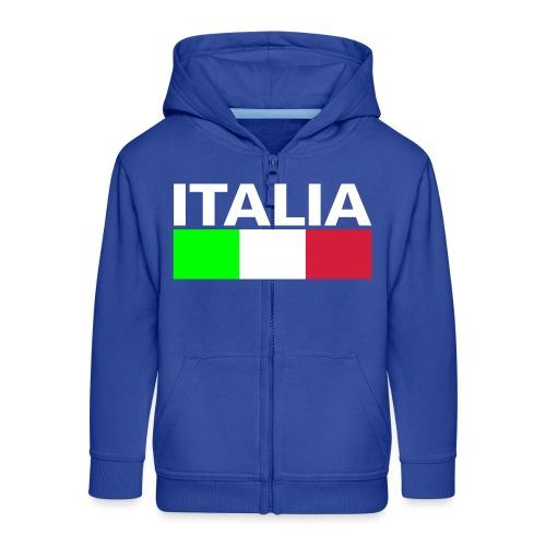 Italia Italy flag - Kids' Premium Zip Hoodie