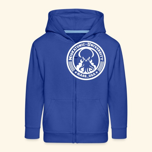 Miskatonic University Back - Kinder Premium Kapuzenjacke