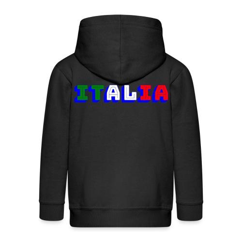 Italia - Felpa con zip Premium per bambini