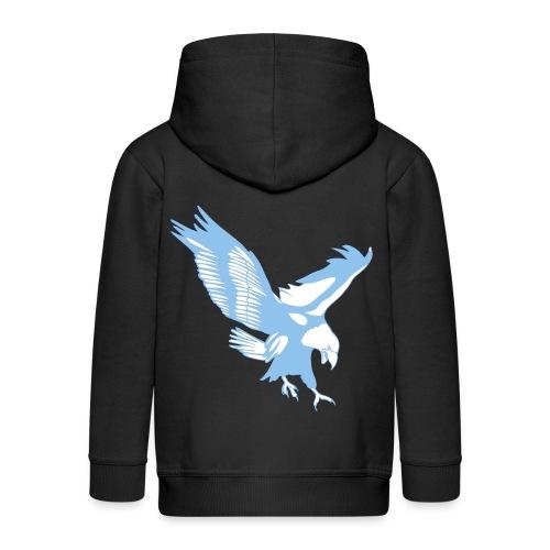 Aquila Lazio disegno per magliette ed altri access - Felpa con zip Premium per bambini