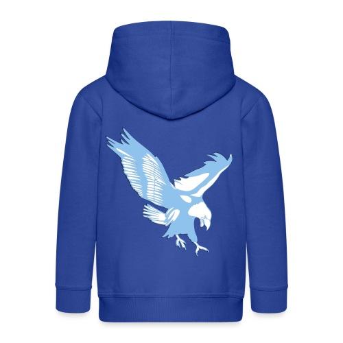Maglietta laziale Olimpia ed altri accessori - Felpa con zip Premium per bambini