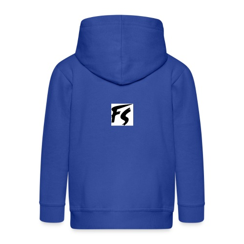 frituurstok logo FS - Kinderen Premium jas met capuchon
