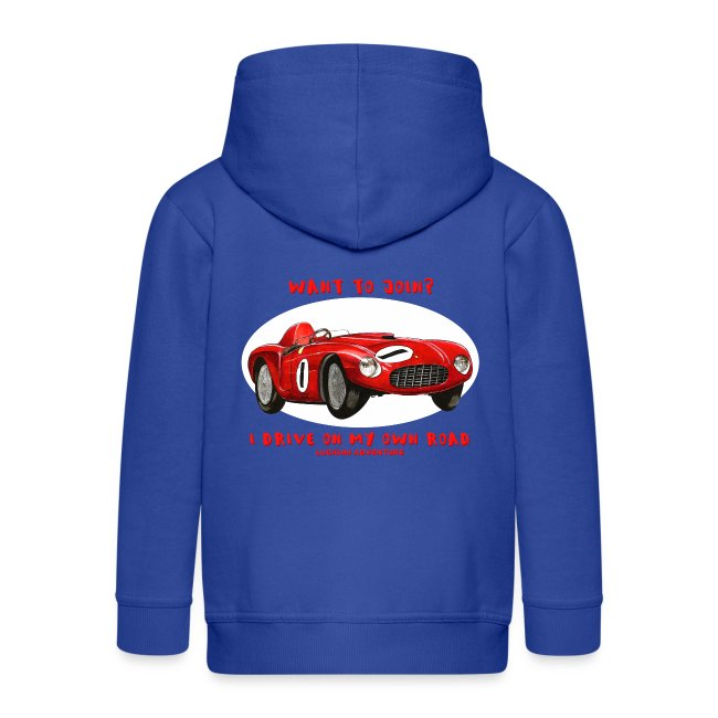 Happy Car Red - Kids
