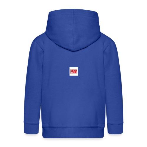 LogoSample ByTailorBrands - Kinderen Premium jas met capuchon