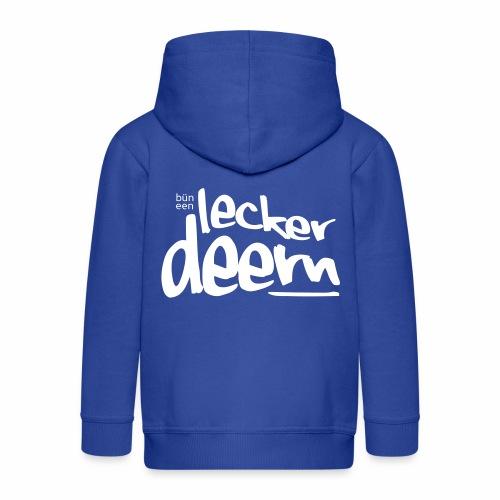Lecker Deern - Kinder Premium Kapuzenjacke