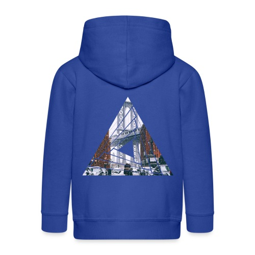 Manhattan Bridge of Brooklyn New York City - Kinder Premium Kapuzenjacke