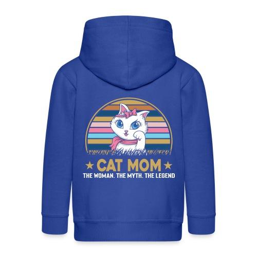 CAT MOM - Veste à capuche Premium Enfant