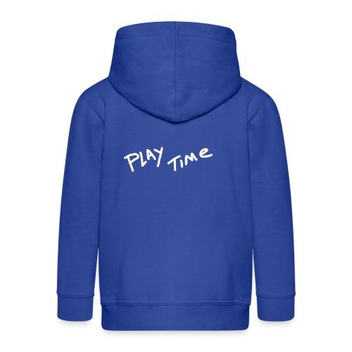 Play Time Tshirt - Kids' Premium Hooded Jacket