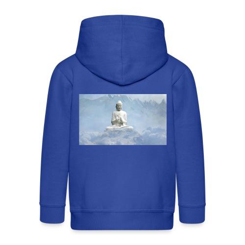 Buddha with the sky 3154857 - Kids' Premium Zip Hoodie