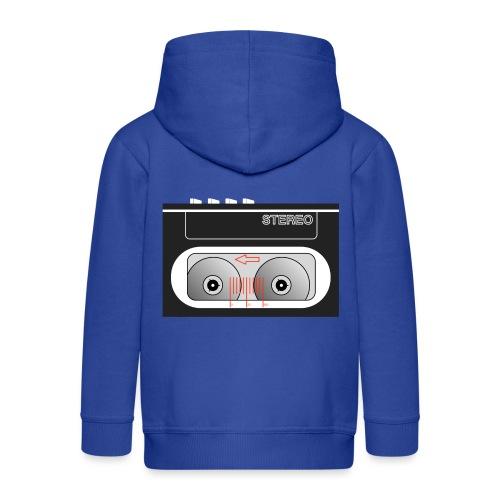 Walkman compact black - Kids' Premium Hooded Jacket